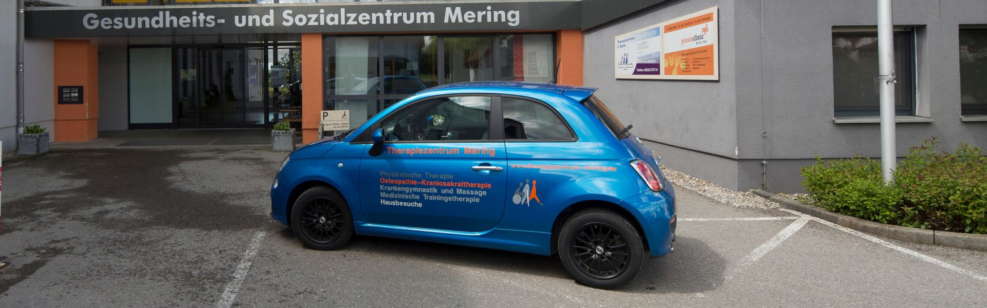 Therapiezentrum Mering - Therapiezentrum Mering - Inh. Christina Brack (Physiotherapeutin, Manualtherapeutin, Osteopathin)